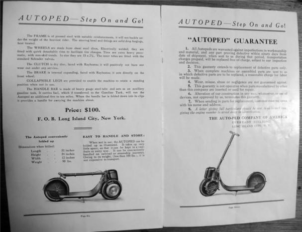 Dünyanın ilk Scooter'ı Eveready Autoped - Page 1