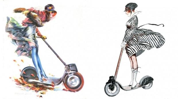 Dünyanın ilk Scooter'ı Eveready Autoped - Page 2
