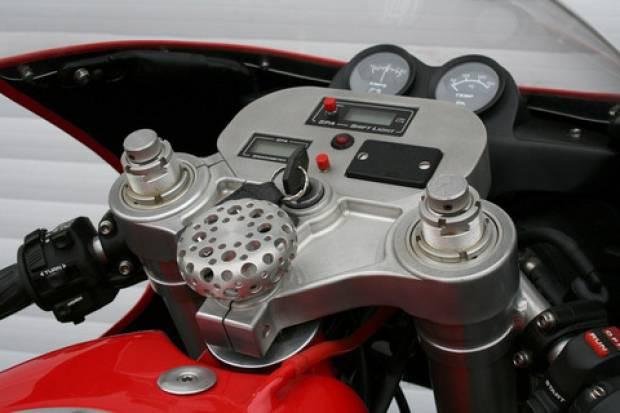 Dünyanın ilk ve son Ferrari marka motosikletinden görüntüler -GALERİ - Page 1
