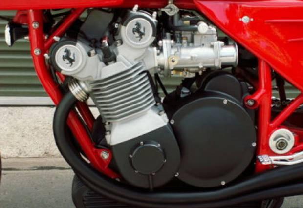 Dünyanın ilk ve son Ferrari marka motosikletinden görüntüler -GALERİ - Page 3
