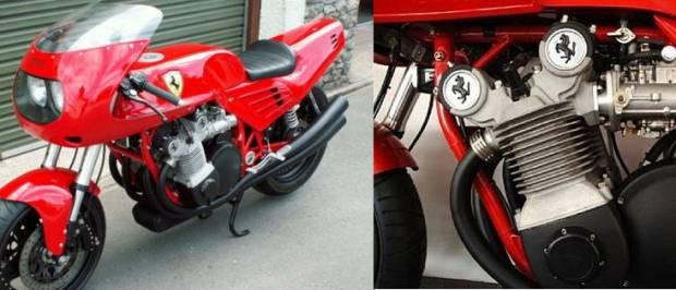 Dünyanın ilk ve son Ferrari marka motosikletinden görüntüler -GALERİ - Page 4