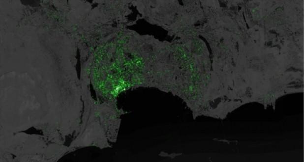Dünyanın Twitter haritası - Page 1