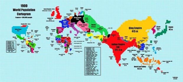Dünyayı ciltlerce kitaptan daha iyi anlatan 15 harita - Page 1