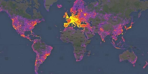 Dünyayı ciltlerce kitaptan daha iyi anlatan 15 harita - Page 2