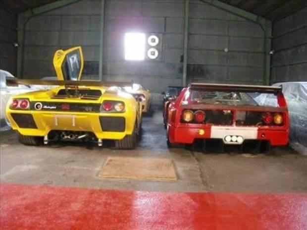 Efsane otomobilleri garajında topladı - Page 4