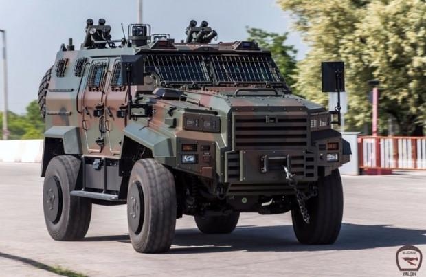 Ejder Yalçın 4x4 Taktik Tekerlekli Zırhlı aracı - Page 3