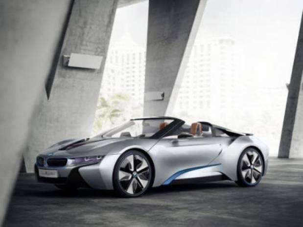 Elektrik ve gazla çalışan BMW İ8 Spyder - Page 2