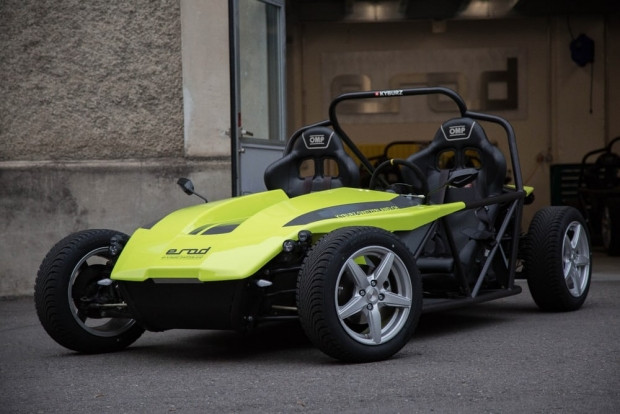 Elektrikli Go Kart aracı Kyburz EROD - Page 1