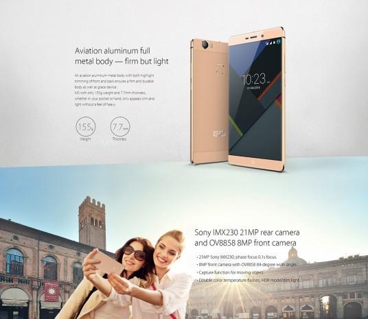 Elephone M3 fiyatıyla adından söz ettirecek - Page 1