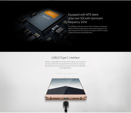 Elephone M3 fiyatıyla adından söz ettirecek - Page 3