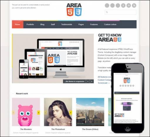 Mobil siteniz için 15 WordPress uyumlu tema - Page 1