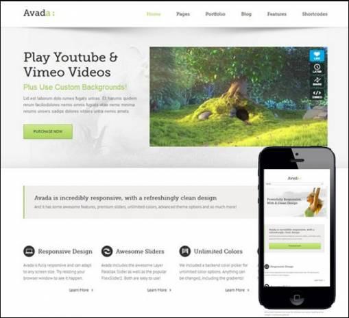Mobil siteniz için 15 WordPress uyumlu tema - Page 2