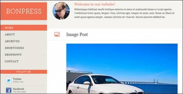 Mobil siteniz için 15 WordPress uyumlu tema - Page 4