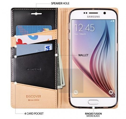 En Galaxy S6 için cüzdan şeklinde kılıflar - Page 1
