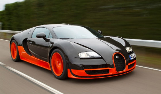 Bugatti veyron super sportsaatte 431 072 km hıza ulaşan veyron u