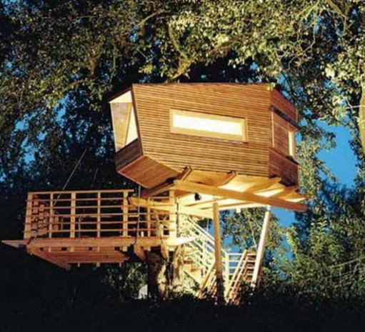 En ilginç ağaç ev tasarımları - Page 3