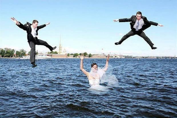 En komik düğün resimleri