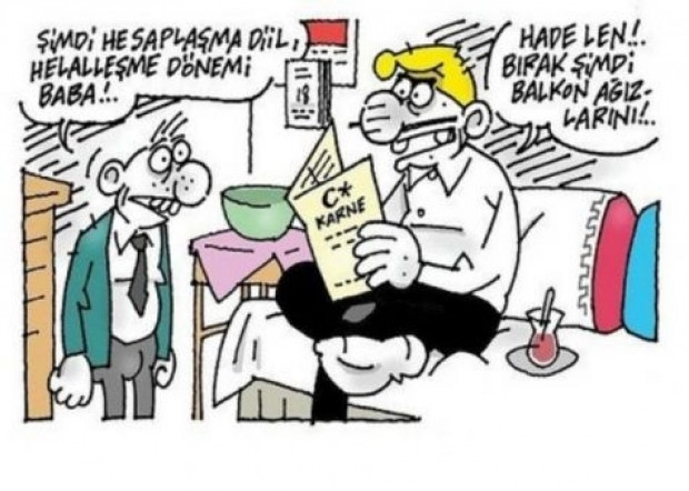 En komik karne karikatürleri - Page 3