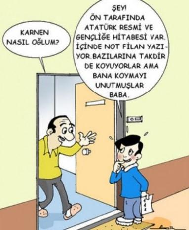 En komik karne karikatürleri - Page 4