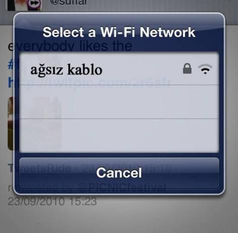 En komik ve ilginç kablosuz ağ isimleri - Page 2