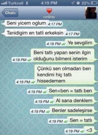 En komik Whatsapp mesajları - Page 1