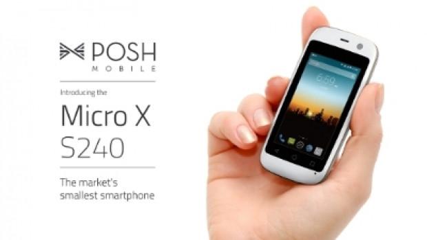 En küçük akıllı telefon 2.4-inç Posh Mobil Mikro X S240 - Page 2