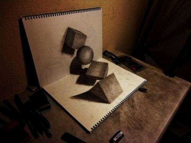 En şaşırtıcı 3 Boyutlu çizimler! - Page 3
