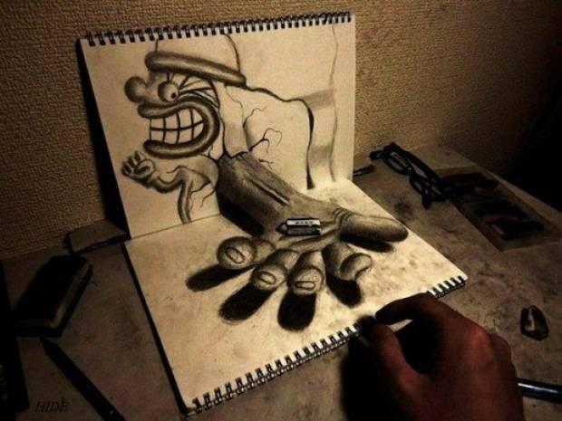 En şaşırtıcı 3 Boyutlu çizimler! - Page 4