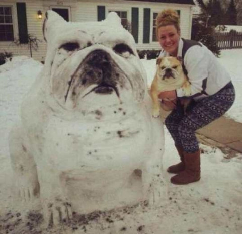 En sıra dışı kardan adam modelleri! - Page 1