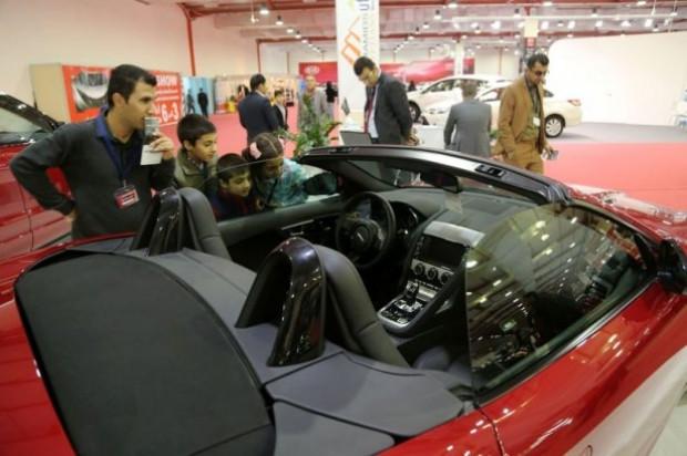 Erbil Auto Show'da lüks araçlar büyüledi! - Page 2