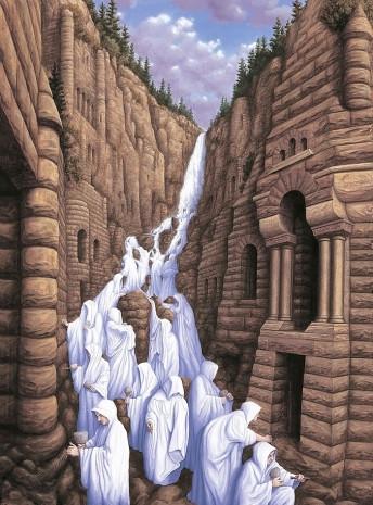 Eserlerinde optik ilüzyonlar kullanan ressamın zihninizi allak bullak edecek 25 çalışması - Page 2