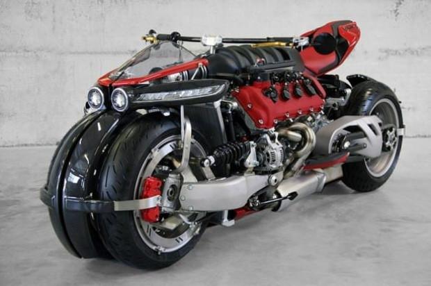 Eşi benzeri olmayan motorsiklet Lazareth LM 847 - Page 1