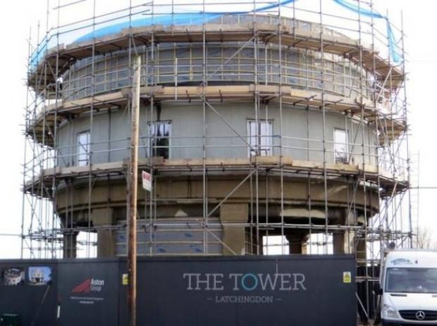 Eski beton su kulesi rezidansa dönüştü - Page 3