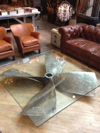Eski uçak parçaları kullanılarak yapılan bu mobilyalar - Page 1