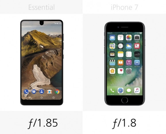 Essential Phone ve iPhone 7 karşı karşıya - Page 1