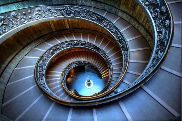 Etkileyici spiral merdiven tasarımları - Page 1