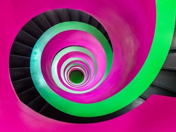 Etkileyici spiral merdiven tasarımları - Page 2