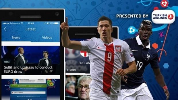 Euro 2016 için en iyi mobil uygulamalar - Page 1