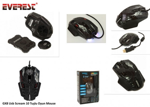 Everest GX core8 gaming mouse - Page 1