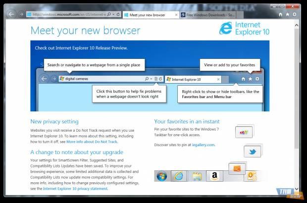 Explorer 10: Windows 7'ye müjde geliyor! - Page 1