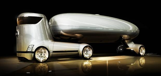 Ezber bozan Mercedes-Benz E-truck konsepti - Page 1