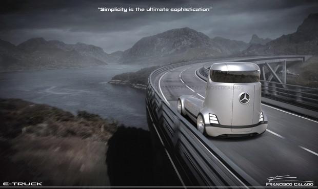 Ezber bozan Mercedes-Benz E-truck konsepti - Page 4