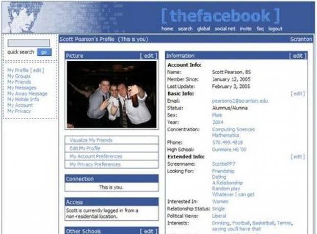 Geçmişten günümüze Facebook! - Page 1