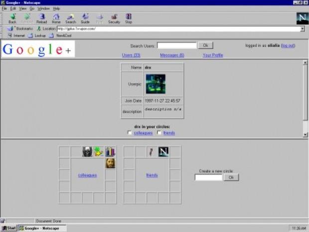 Facebook ve Google+ 1997'de olsaydı böyle olurdu - Page 3