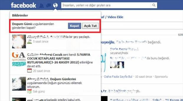 Facebook'ta istenmeyen davetleri engelleyin - Page 3
