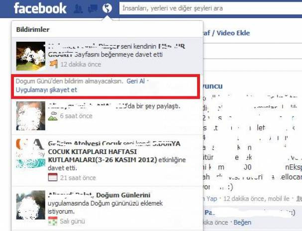 Facebook'ta istenmeyen davetleri engelleyin - Page 4