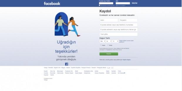 Facebook'tan çıkış yapınca panik olmayın! - Page 2