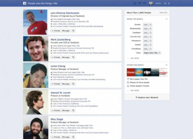 Facebook'tan yeni bomba arama motoru - Page 1