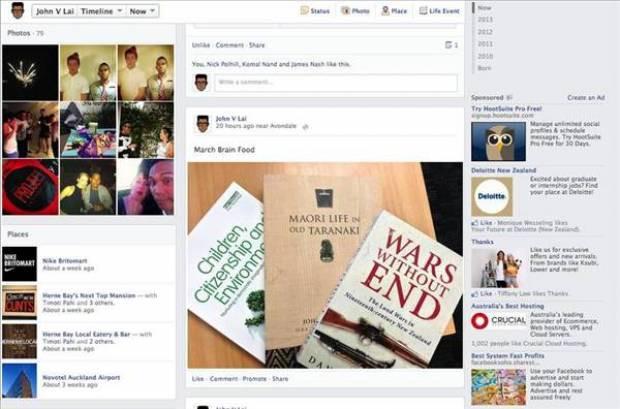 Facebook'un yeni Zaman Tüneli'ni  gördünüz mü? - Page 1