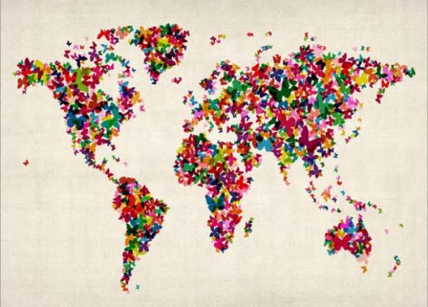 Farklı şekillerde dünya haritaları - Page 2